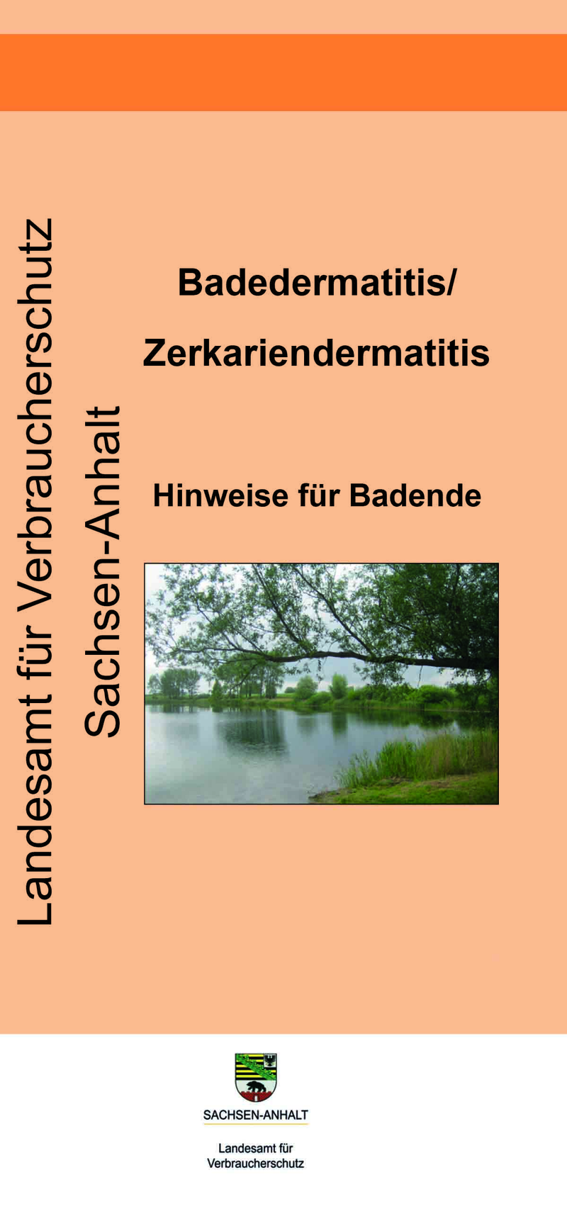 Flyer Badedermatitis